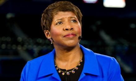 "Gwen Ifill, co-anchor of PBS' ""NewsHour"" with Judy Woodruff  Passes at 61"
