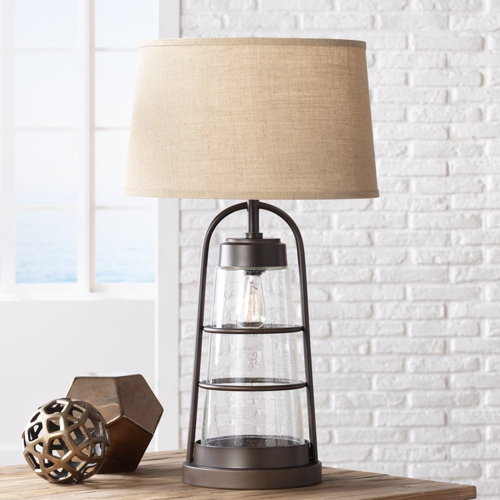 Industrial Lantern Table Lamp With Night Light Music City Favorites Businesses Restaurants Places Greater Nashville Tn