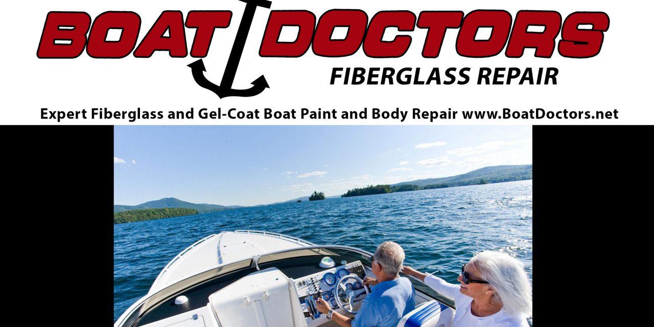 Boat Doctors Fiberglass Gel-Coat Boat Paint and Hull Repair NashvilleTN